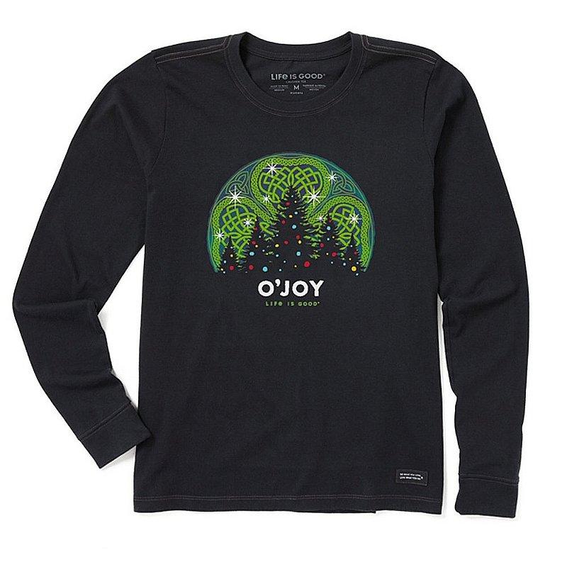 Life is good Women's O;Joy Long Sleeve Crusher Tee Shirt 94536 (Life is good)