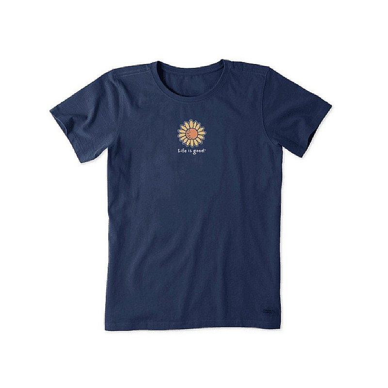 Life is good Women's Sunflower Vintage Crusher Tee Shirt 64950 (Life is good)