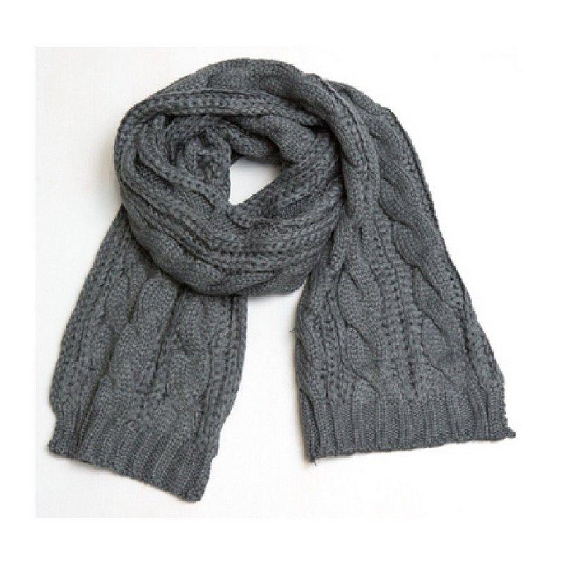 Lovoda Cable Knit Scarf 070400005 (Lovoda)