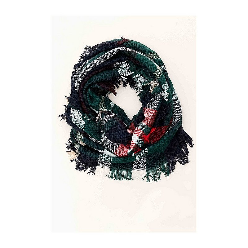 Loop Plaid Scarf