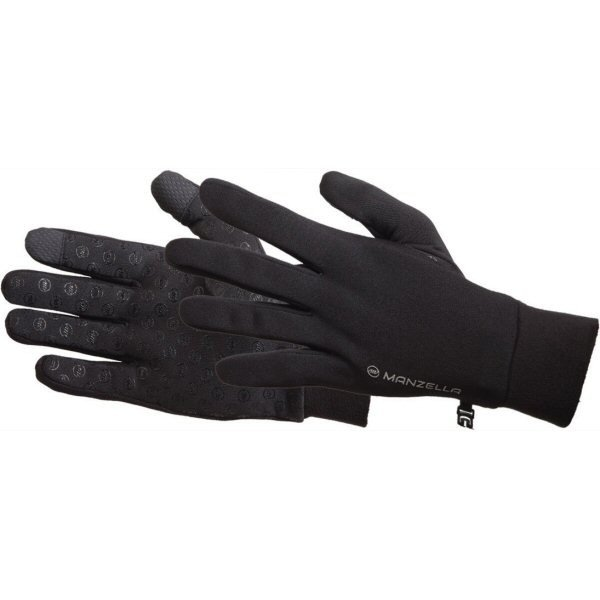 Manzella Productions Men's Power Stretch Ultra TouchTip Gloves O583M (Manzella Productions)