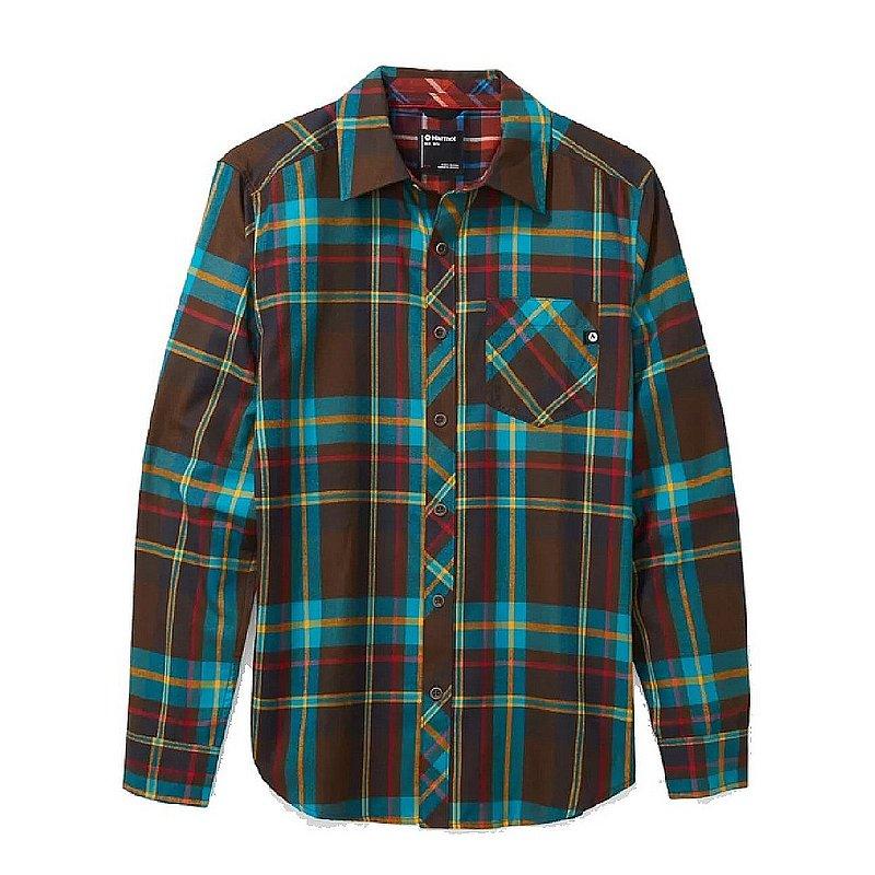 Marmot Men's Anderson Lightweight Flannel Long-Sleeve Shirt 44520 (Marmot)