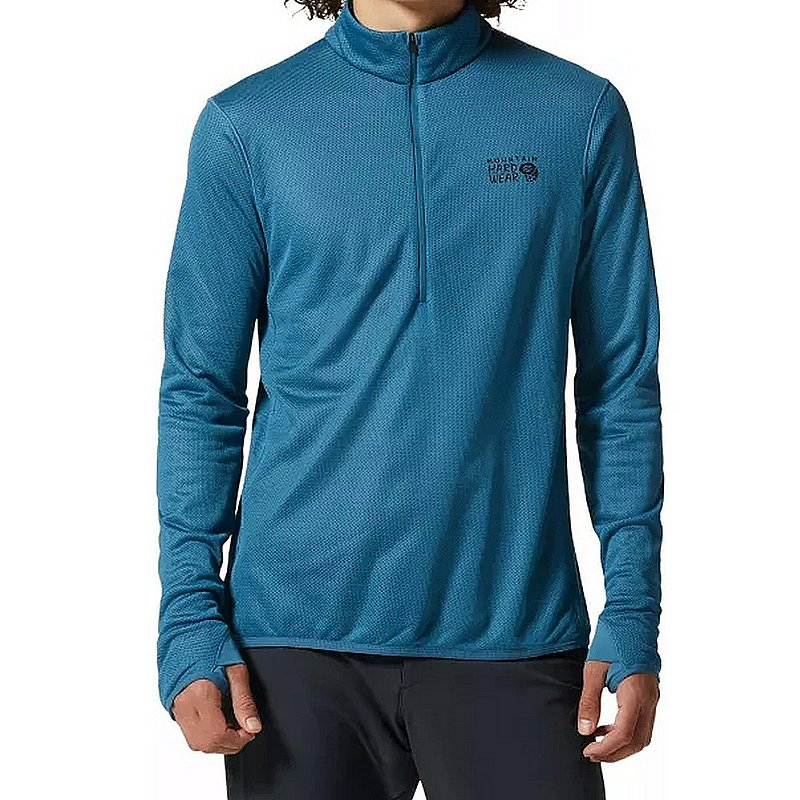 Mountain Hardwear Men's AirMesh 1/4 Zip Shirt 1956341 (Mountain Hardwear)