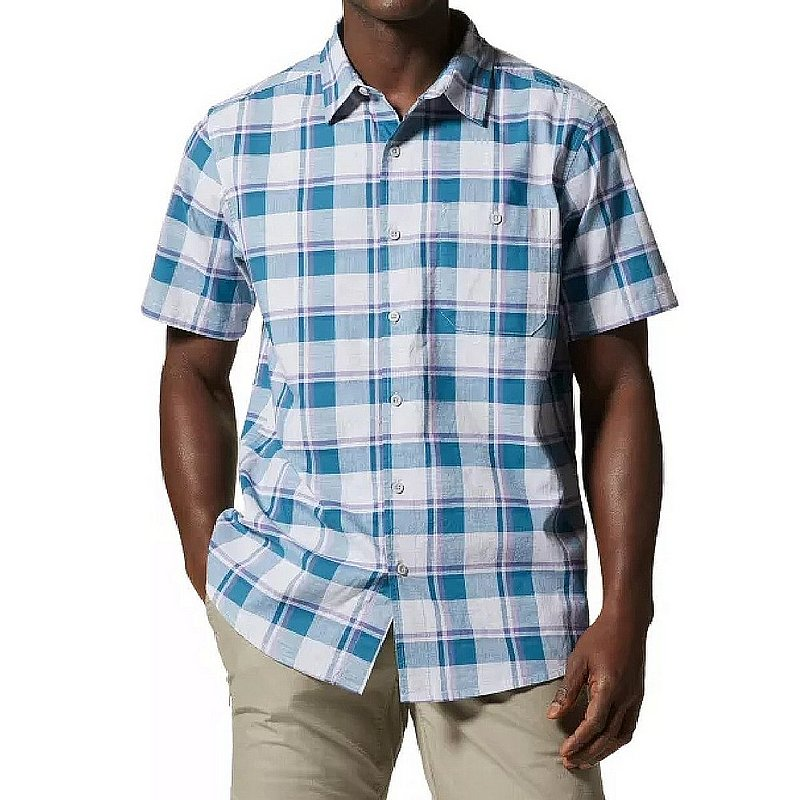 Mountain Hardwear Men's Big Cottonwood Short Sleeve Shirt 1829001 (Mountain Hardwear)