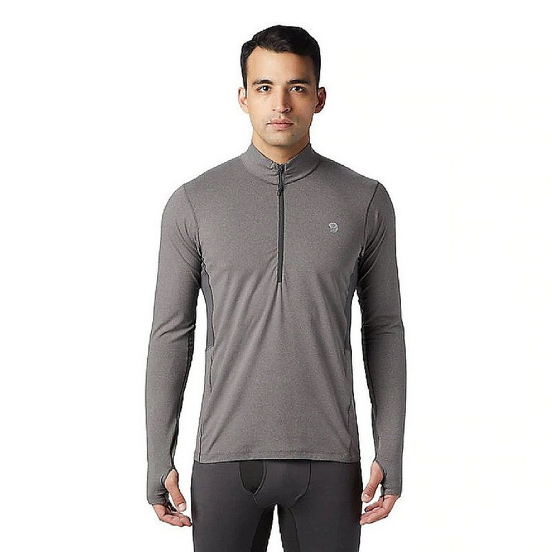 Mountain Hardwear Men's Ghee Long Sleeve 1/2 Zip Fleece 1851041 (Mountain Hardwear)