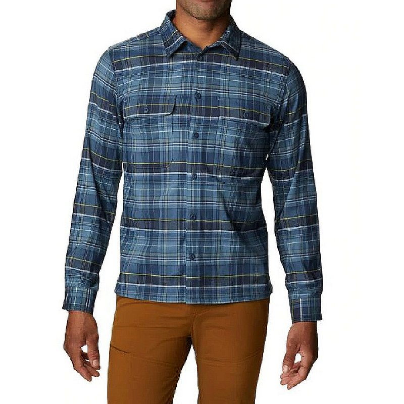 Mountain Hardwear Men's Voyager One Long Sleeve Shirt 1851201 (Mountain Hardwear)