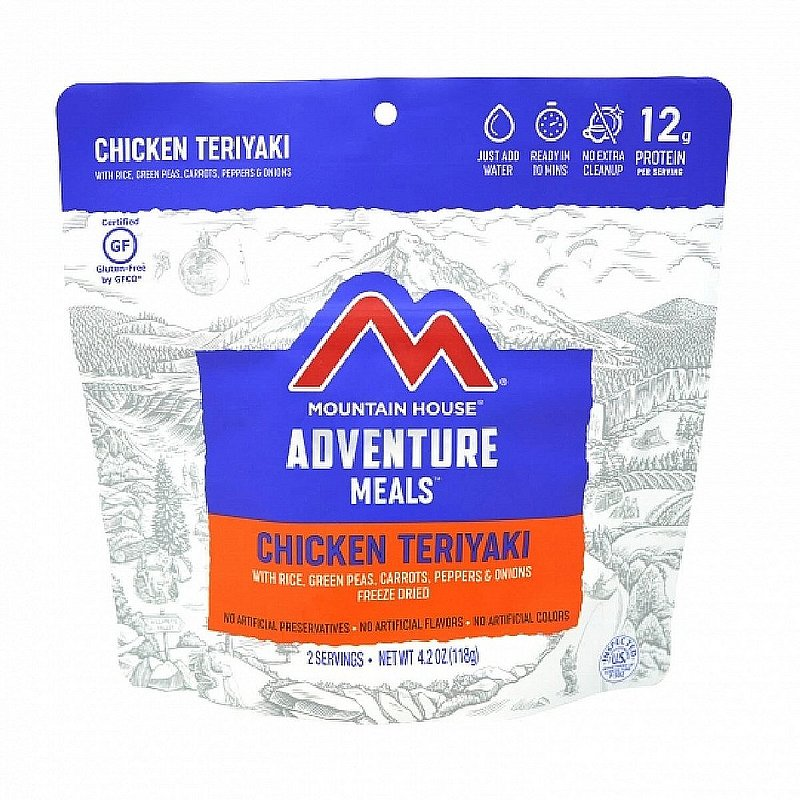 Mountain House Chicken Teriyaki with Rice Meal 55167 (Mountain House)