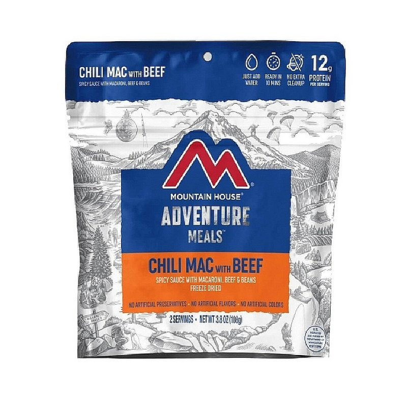 Mountain House Chili Mac with Beef Meal 55106 (Mountain House)