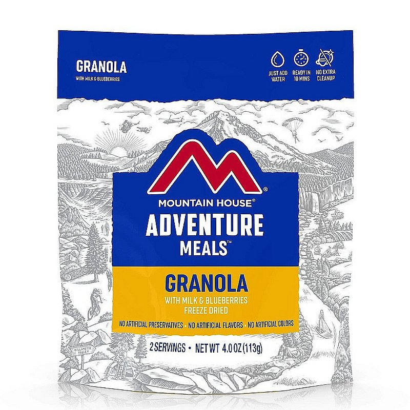Mountain House Granola with Milk and Blueberries 55450 (Mountain House)