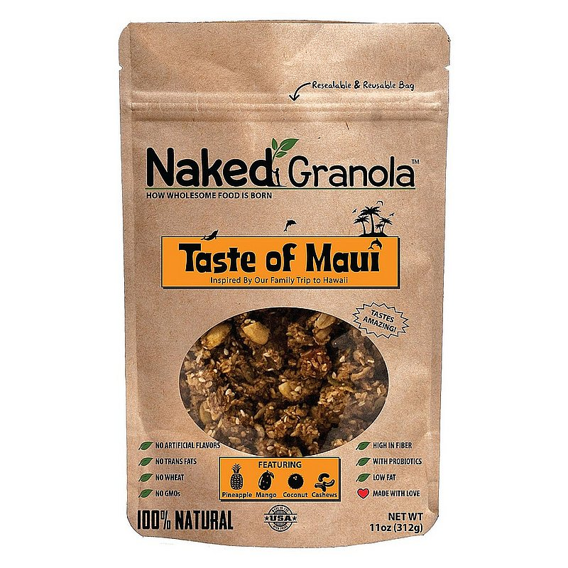 Naked Granola, Inc Taste of Maui Bagged Granola NG-B11-Maui (Naked Granola, Inc)