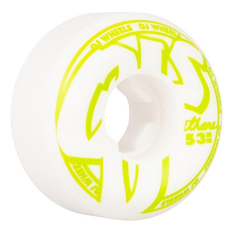 Oj Wheels From Concentrate Hardline Skateboard Wheels 1WOJW0FCHL53WWY (Oj Wheels)