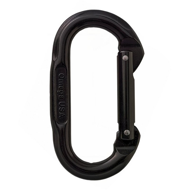 Omega Pacific Oval Straight Carabiner 433650 (Omega Pacific)