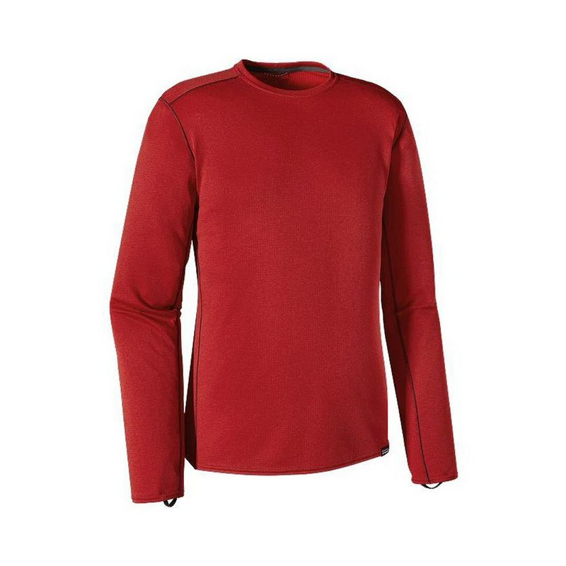 Patagonia Men's Capilene Midweight Long Sleeve Crew Neck Shirt 44425 (Patagonia)