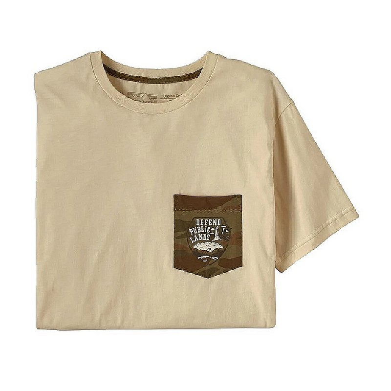 Patagonia Men's Defend Public Lands Organic Pocket T-Shirt 38470 (Patagonia)