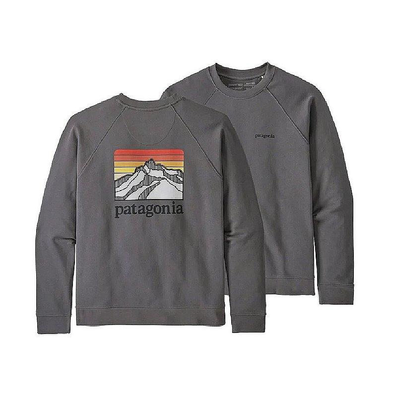 Patagonia Men's Line Logo Ridge Organic Cotton Crew Sweatshirt 39602 (Patagonia)