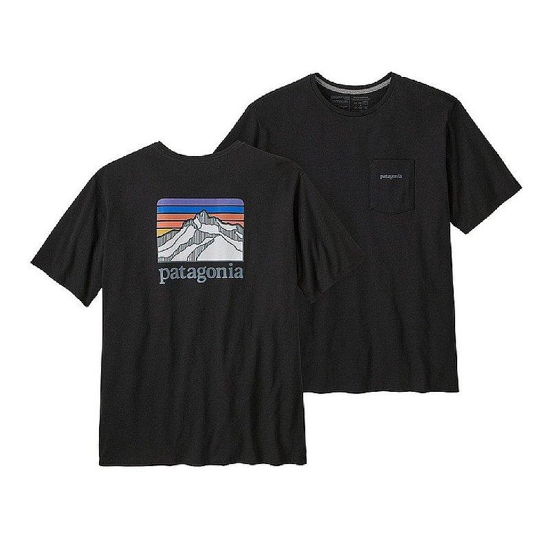 Patagonia Men's Line Logo Ridge Pocket Responsibili-Tee Shirt 38511 (Patagonia)