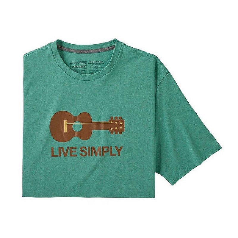 Patagonia Men's Live Simply Guitar Responsibili-Tee Shirt 38503 (Patagonia)