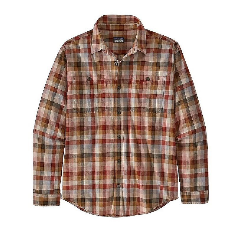 Patagonia Men's Long Sleeve Pima Cotton Shirt 53837 (Patagonia)