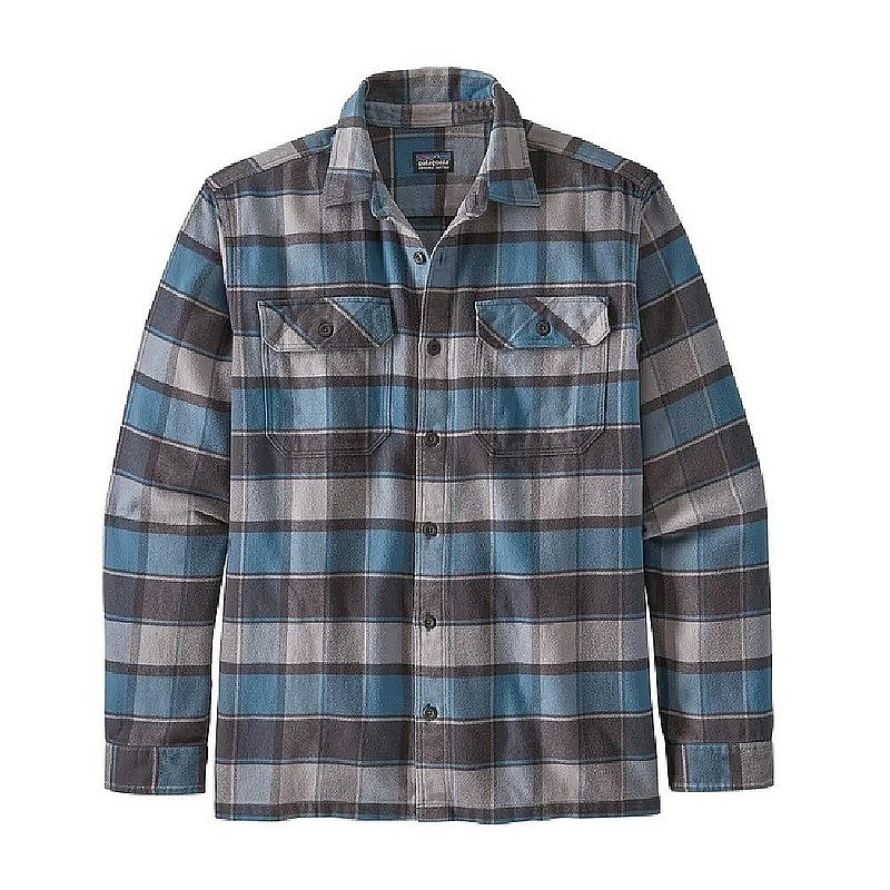 Patagonia Men's Long-Sleeved Fjord Flannel Shirt 53947 (Patagonia)