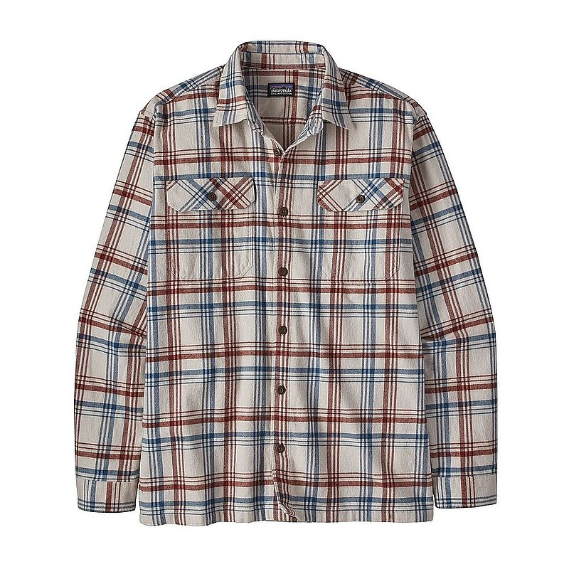 Men's Long-Sleeved Organic Cotton Midweight Fjord Flannel Shirt