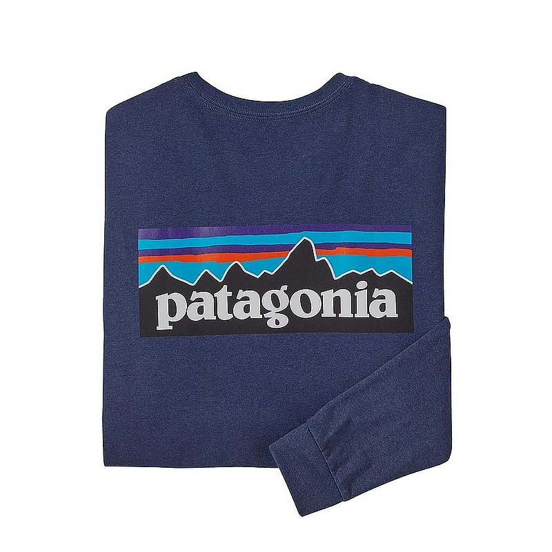 Patagonia Men's Long-Sleeved P-6 Logo Responsibili-Tee Shirt 38518 (Patagonia)