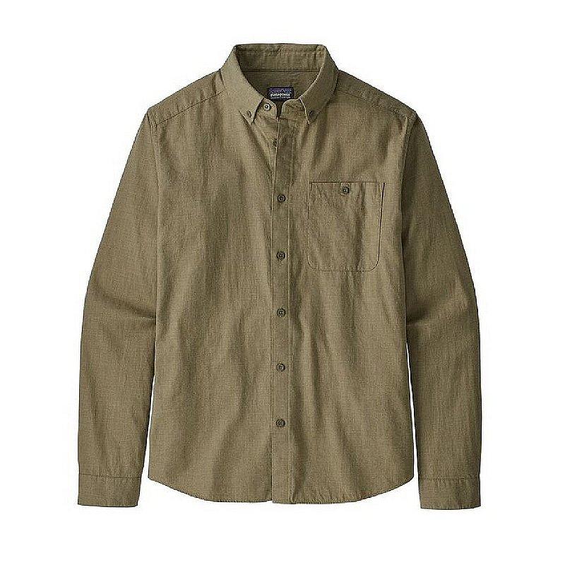 Patagonia Men's Long-Sleeved Vjosa River Pima Cotton Shirt 53900 (Patagonia)