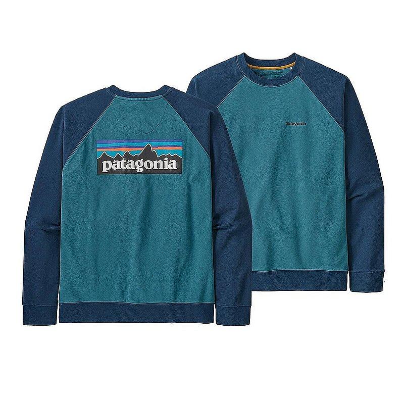 Patagonia Men's P-6 Logo Organic Cotton Crew Sweatshirt 39603 (Patagonia)