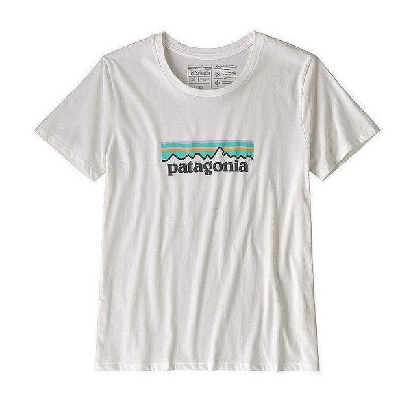 Patagonia Women's Pastel P-6 Logo Organic Cotton Crew T-Shirt 39576 (Patagonia)
