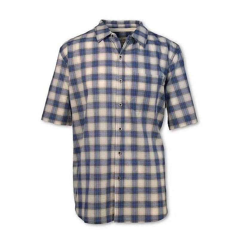 Purnell Men's Blue Madras Plaid Shirt 10104008 (Purnell)