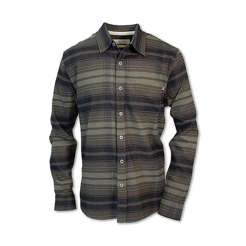 Men's Striped Flannel Shirt