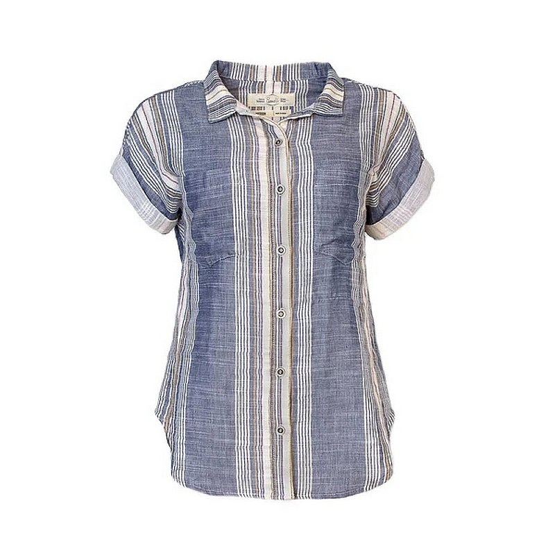 Purnell Women's Short-Sleeved Double-Sided Striped Shirt 10204005 (Purnell)