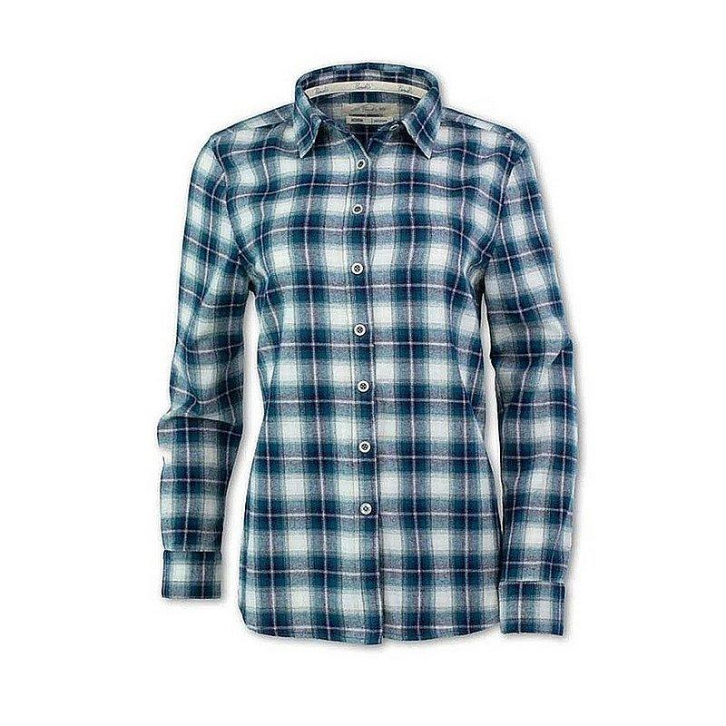 Women's Vintage Plaid Flannel Shirt