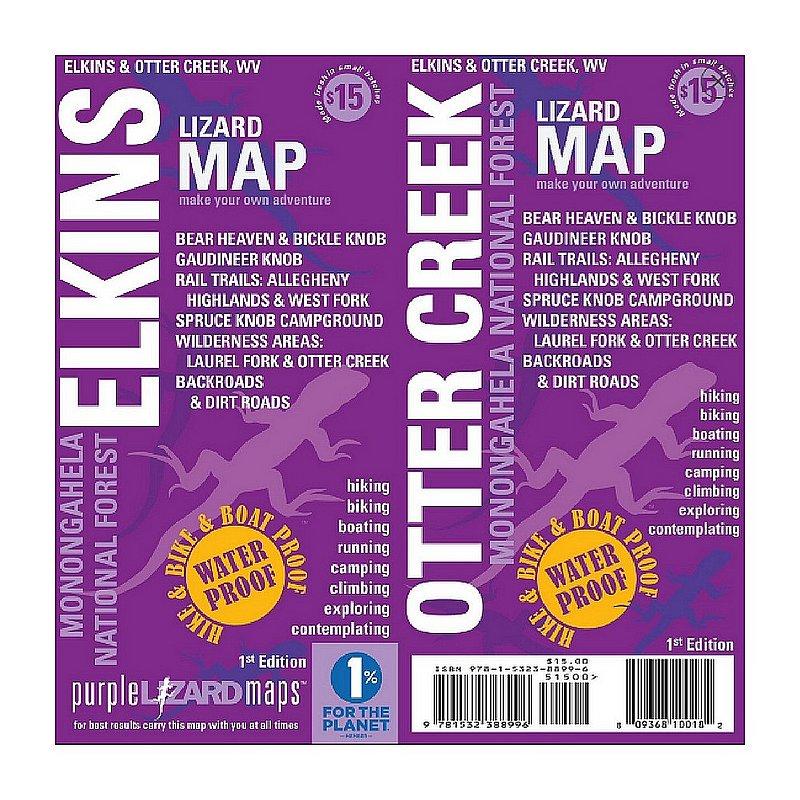 Elkins-Otter Creek Map