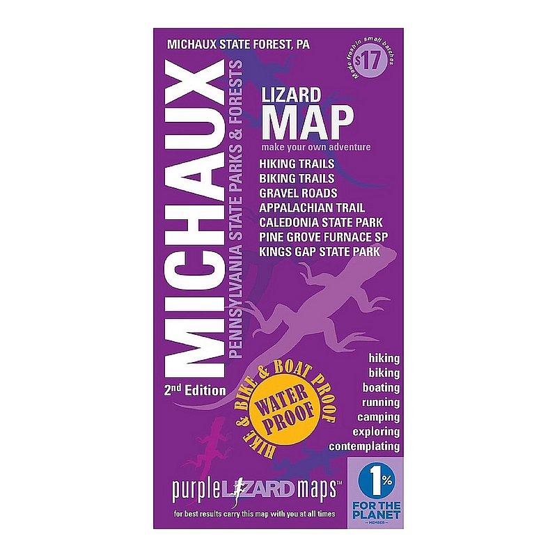 Purple Lizard Pub. Michaux Lizard Map, Pennsylvania: 2nd edition MICHAUX2 (Purple Lizard Pub.)
