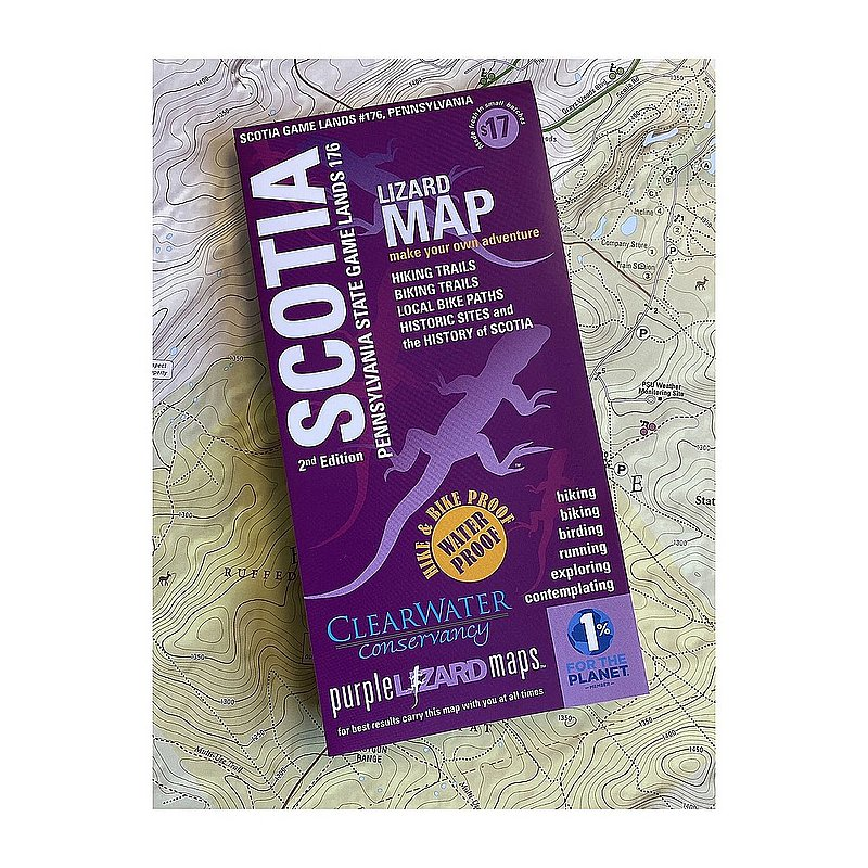 Purple Lizard Pub. Scotia Game Lands Trails and History Map SCOTIAV2 (Purple Lizard Pub.)