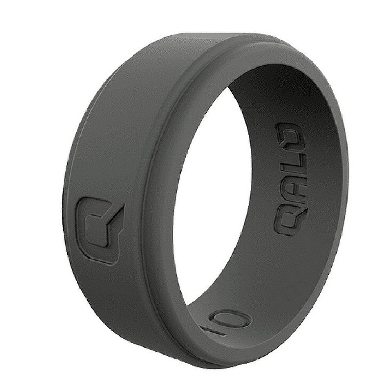 Qalo Corp Men's Step Edge Q2X Silicone Ring--Size 11 QS-MSC11 (Qalo Corp)