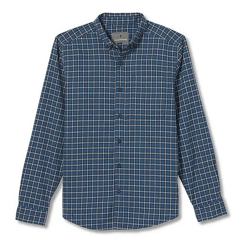 Royal Robbins Men's Lieback Organic Cotton Flannel Long Sleeve Shirt 722022 (Royal Robbins)