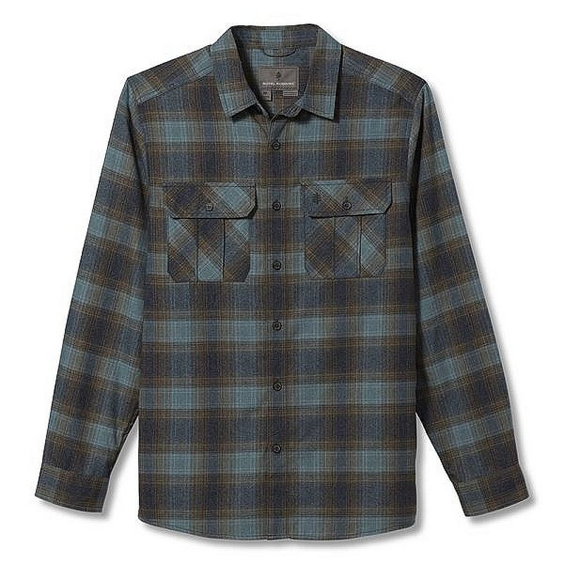 Royal Robbins Men's Lost Coast Flannel Plaid Long Sleeve Shirt 422023 (Royal Robbins)