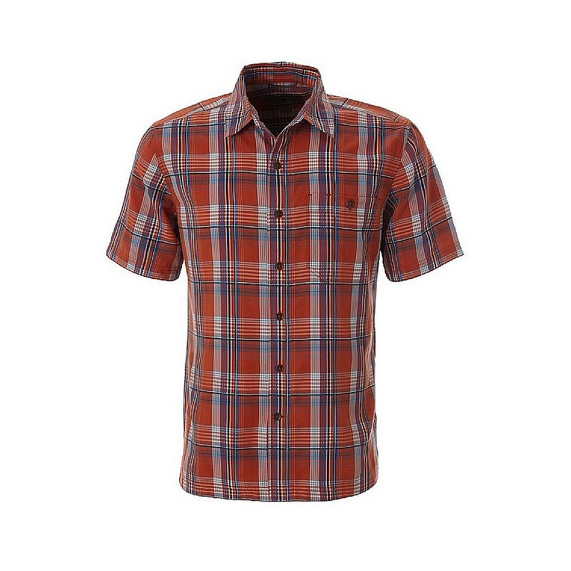 139c8f30717 Royal Robbins Men's Mojave Pucker Dobby Plaid Short Sleeve Shirt 421003  (Royal Robbins)