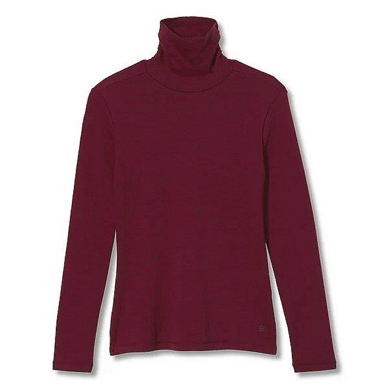 Royal Robbins Women's Kickback Organic Cotton Turtleneck Shirt 612019 (Royal Robbins)
