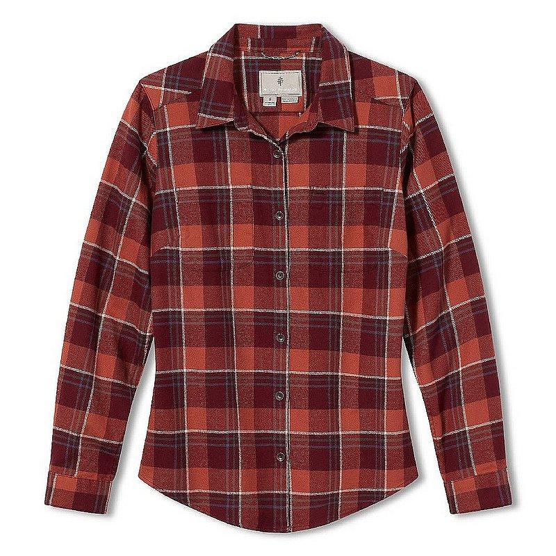 Royal Robbins Women's Lieback Organic Cotton Flannel Long Sleeve Shirt 621012 (Royal Robbins)