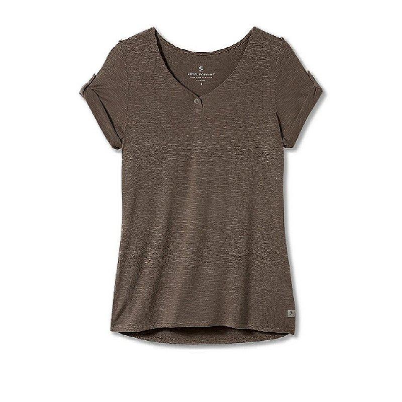 Royal Robbins Women's Noe Henley Short Sleeve Shirt Y311017 (Royal Robbins)