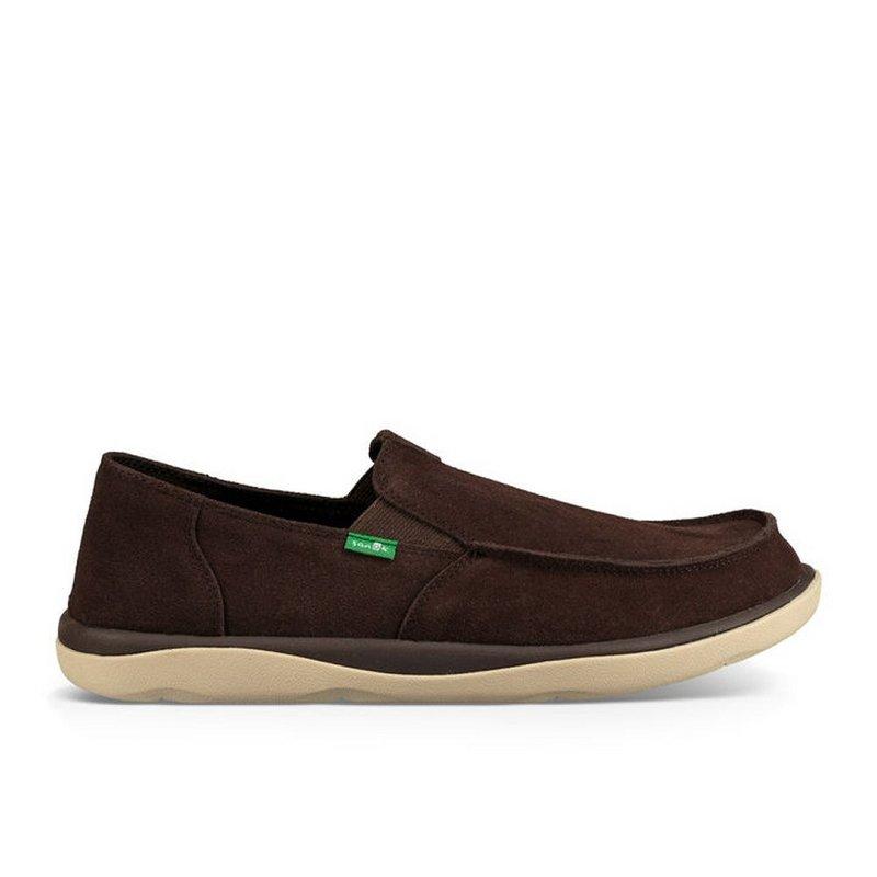Sanuk Men's Vagabond Tripper Suede Shoes 1020008 (Sanuk)