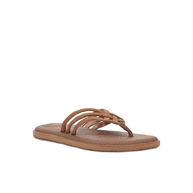 Sanuk Women's Yoga Salty Leather Sandals 1112768 (Sanuk)