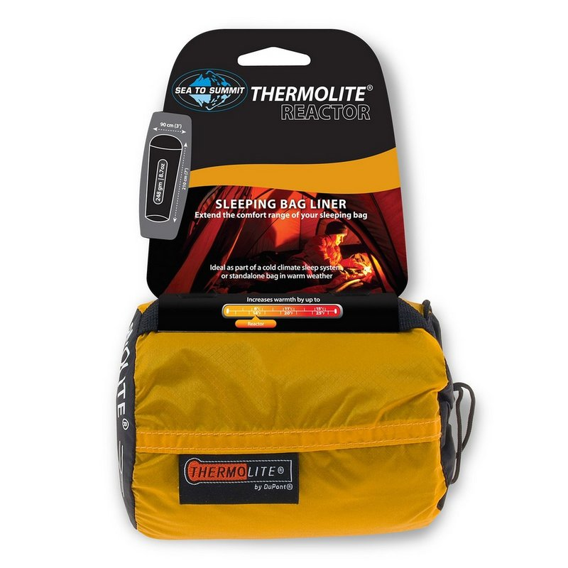 Sea To Summit Thermolite Reactor Sleeping Bag Liner 119 (Sea To Summit)