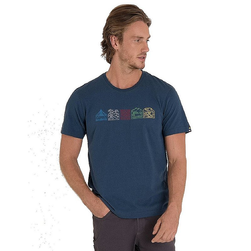 Sherpa Adventure Gear Men's Lungta Organic Cotton Tee Shirt SM3161 (Sherpa Adventure Gear)