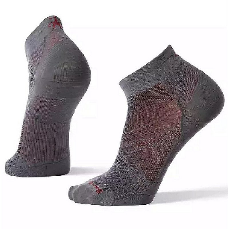 Smartwool Men's PhD Run Ultra Light Low Cut Socks SW001406 (Smartwool)