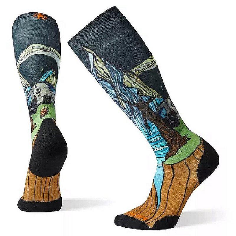 Smartwool Men's PhD Ski Light Elite Benchetler Print Socks SW001281 (Smartwool)