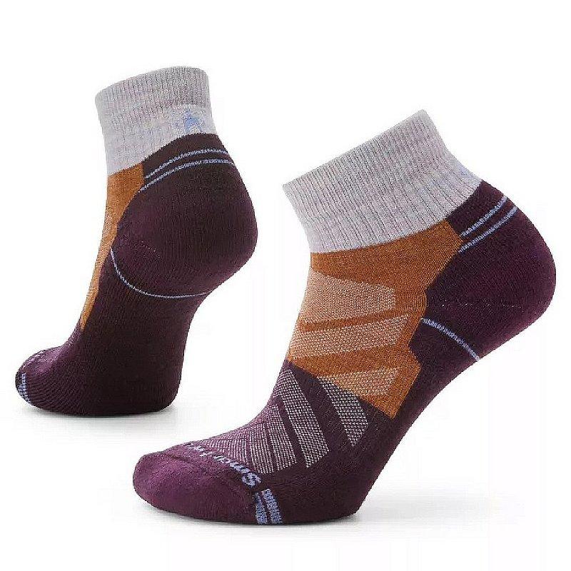Smartwool Women's Hike Light Cushion Color Block Pattern Ankle Socks SW001576 (Smartwool)