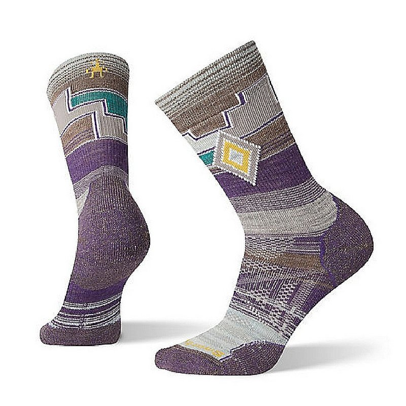 Smartwool Women's PhD Outdoor Light Pattern Crew Socks SW001146 (Smartwool)